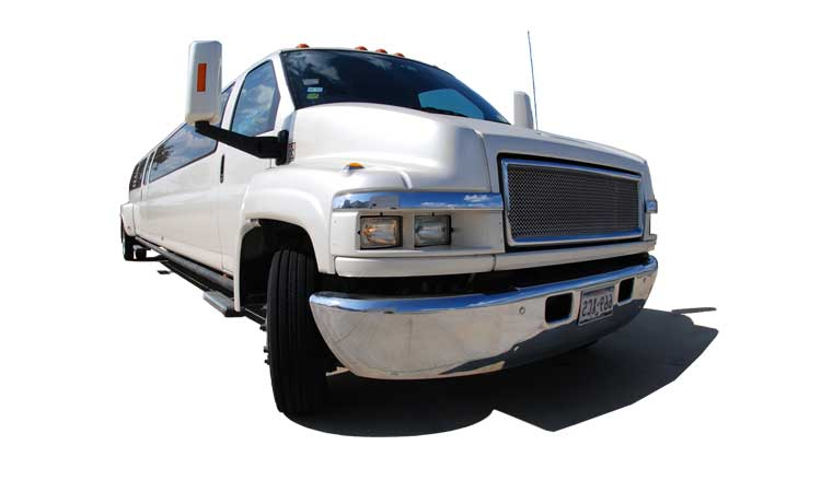 Houston Limousine Rental - Stretch Limo GMC Kodiak TopKick<